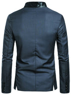 Men's European Style Personalized Suit Jacket