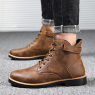 Anti-slip and Wear-resistant Martin Boots