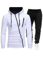 Hoodie Two-piece Long Sleeve Zipper