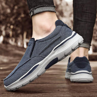 Thick-soled Sneakers Canvas Plus Size Men's Shoes
