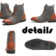Canvas Ombre Martin Boots