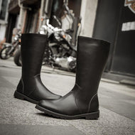 Fashionable British Style Men's High Boots