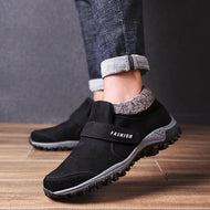 Autumn Winter Large Size Elderly Shoes Outdoor Hiking Cotton Shoes