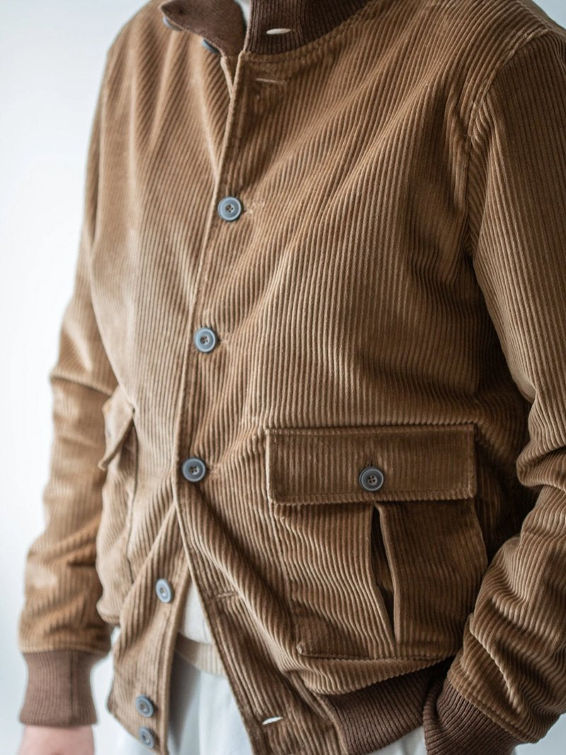 Business Corduroy Pocket Jacket