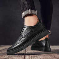 New Fashion British Casual Men's Leather Shoes