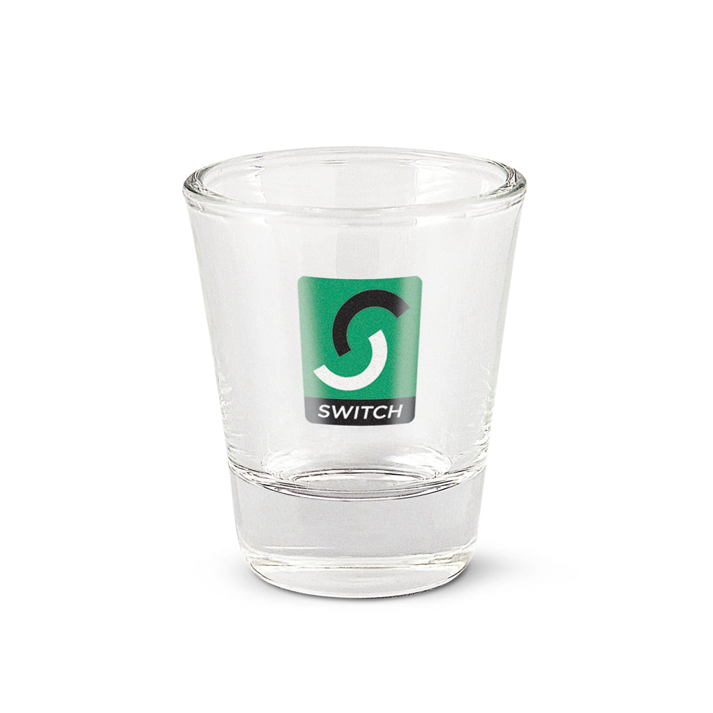 30ml Shot Glass with Custom Branding