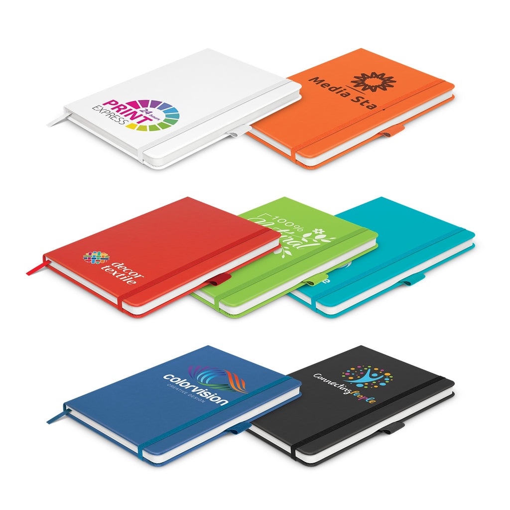 Academy Notebook with Logo Print
