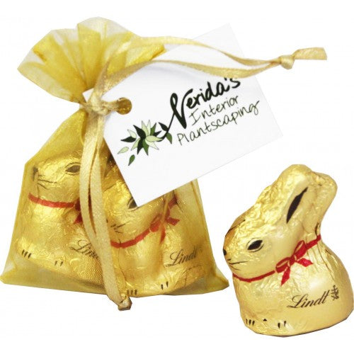 Gold Lindt Bunny Duo