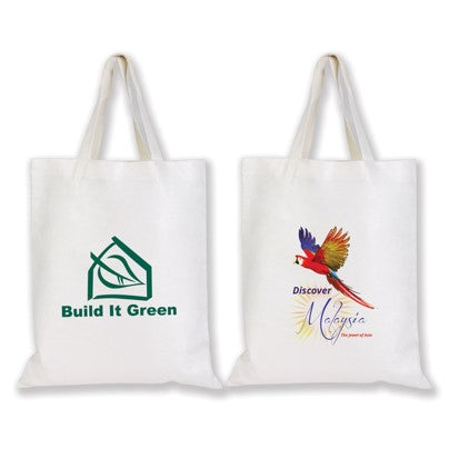 Bamboo Tote Bag with Logo Print
