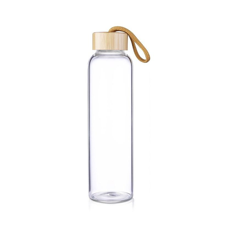 600ML Glass Bottle with Logo Print