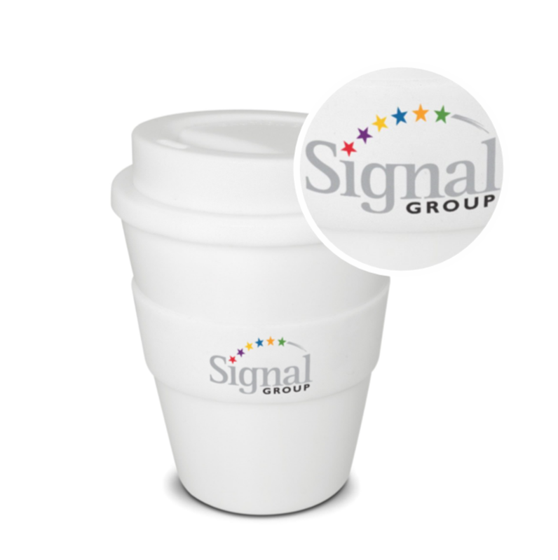 Brew 350ml Cup with Logo Print