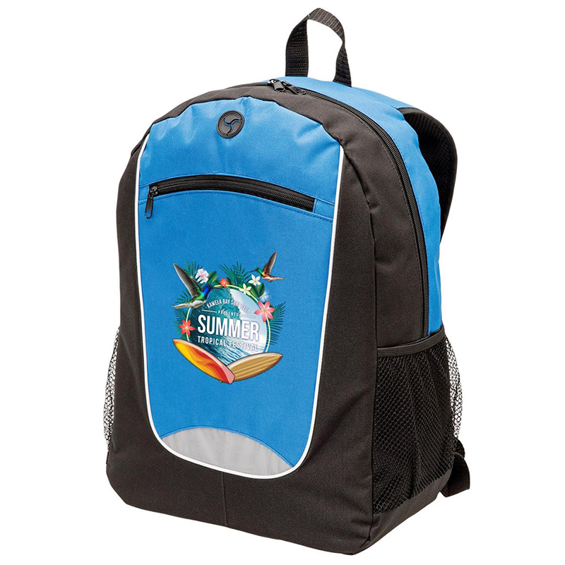 Flex Back Pack with One Colour Print