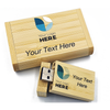 4GB Bamboo USB with Full Colour Logo Print