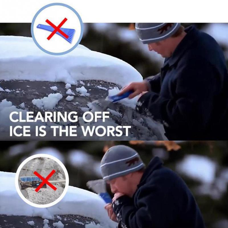 MAGIC ICE SCRAPER