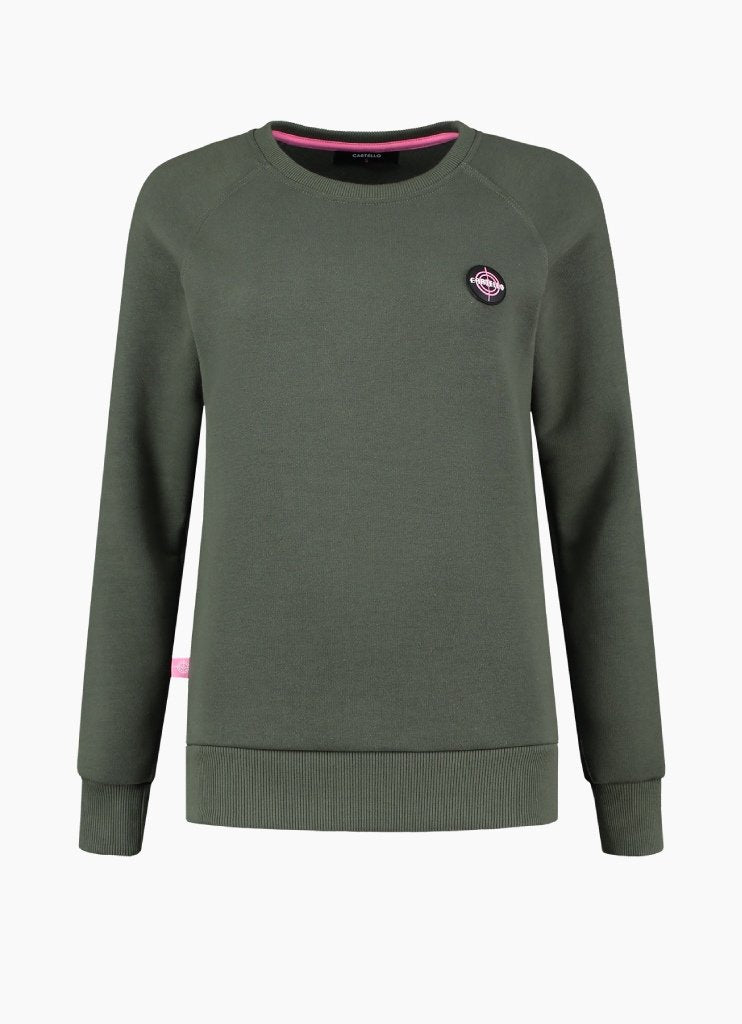 Cartello | Sweater Armygreen