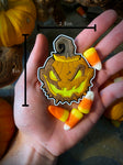 Pumpkin Ghoul PVC Patch
