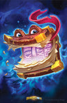 Babbling Book Official Hearthstone Print