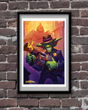 Big Time Racketeer Official Hearthstone Print