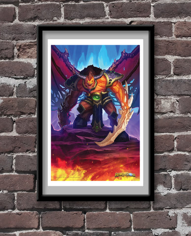 Hooked Reaver Official Hearthstone Print