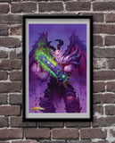 Baltharak Official Hearthstone Print