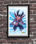 Draconic Imp Shaping Official Hearthstone Print