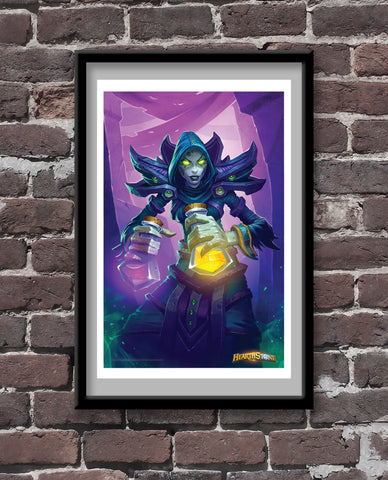 Mistress of Mixtures Official Hearthstone Print