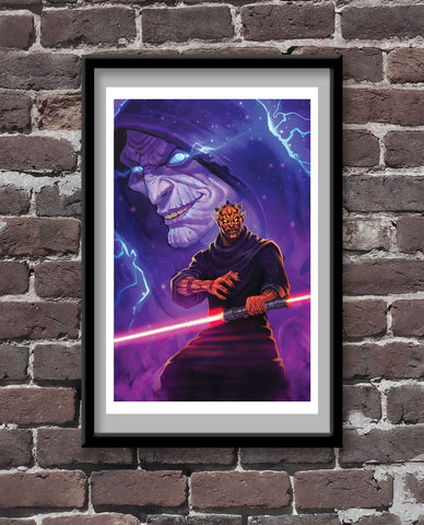 Sith Lords - Fan Art Print