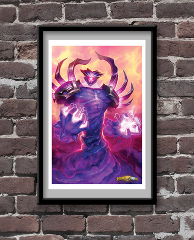 Twilight Elemental Official Hearthstone Print