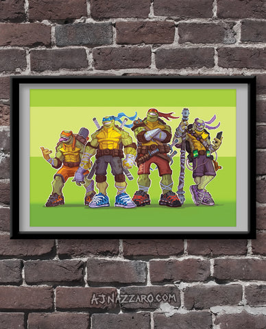 TMNT Squad - Fan Art Print