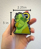 Frankenstein PVC Patch