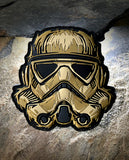 Ivory Trooper PVC Patch