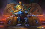 King Rastakhan Official Hearthstone Print