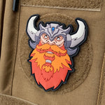 Viking Berserker PVC Patch