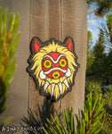 Princess Mononoke Mask PVC Patch