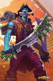 Salty Looter Official Hearthstone Print