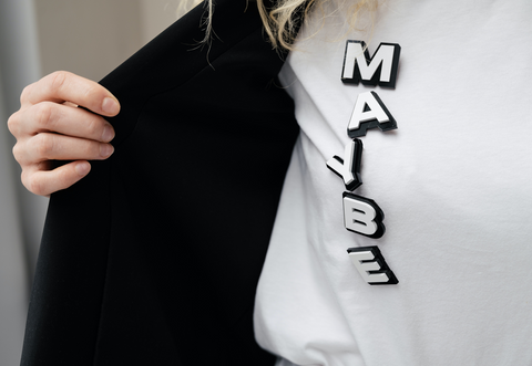 letters on a shirt