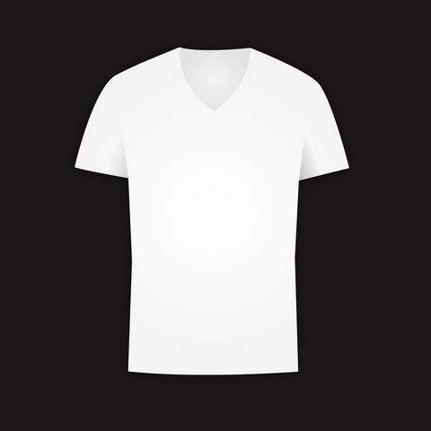 a plain white polyester t-shirt perfect for sublimation