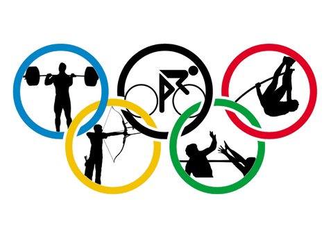 Different Olympic event designs
