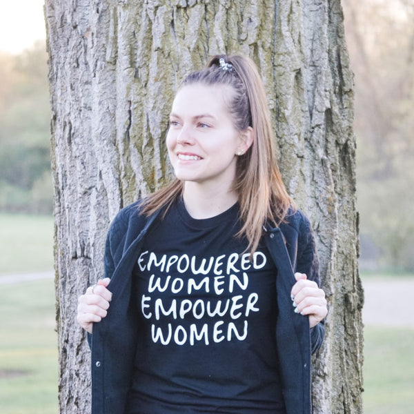 EMPOWERED WOMEN: Printed T-Shirt-0