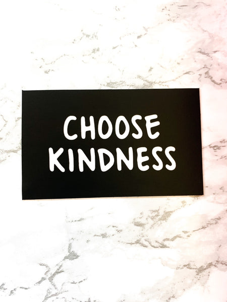 CHOOSE KINDNESS Sticker-0
