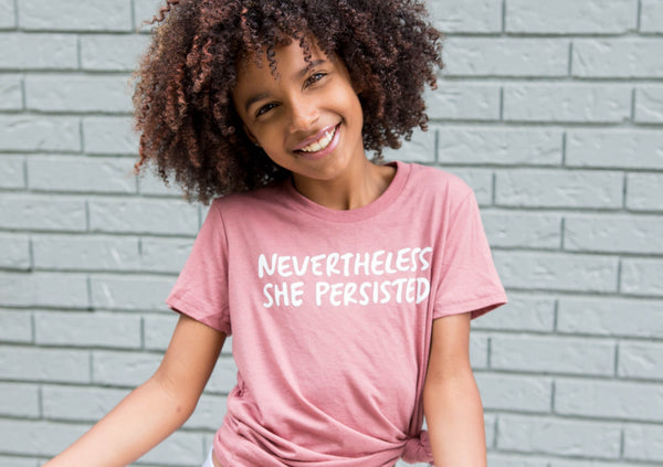 Toddler & Youth - NEVERTHELESS, SHE PERSISTED-1