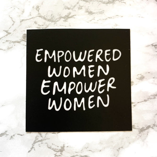 EMPOWERED WOMEN Sticker-3