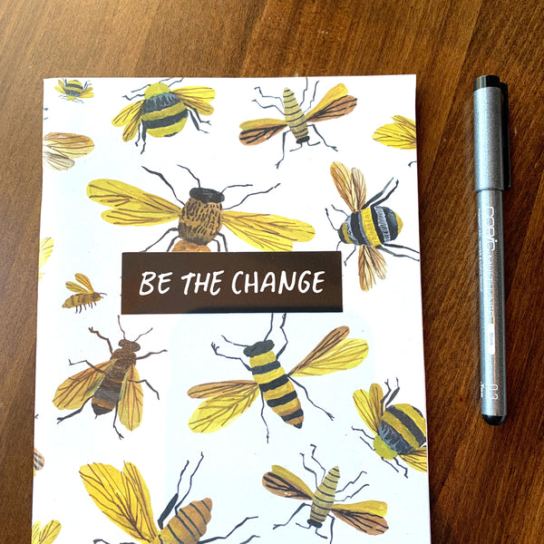 BE THE CHANGE - Stickers with a Cause-1