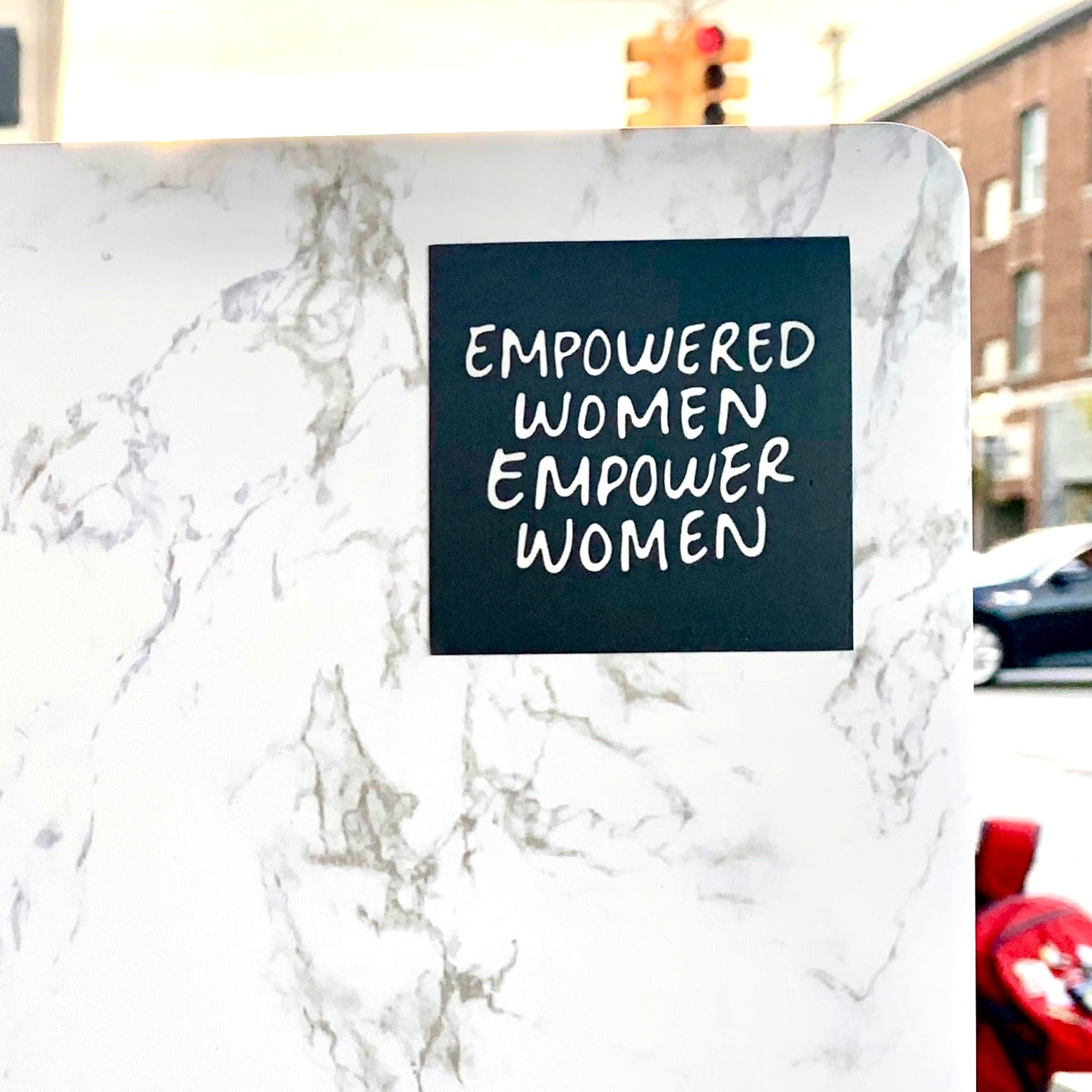 EMPOWERED WOMEN Sticker-0