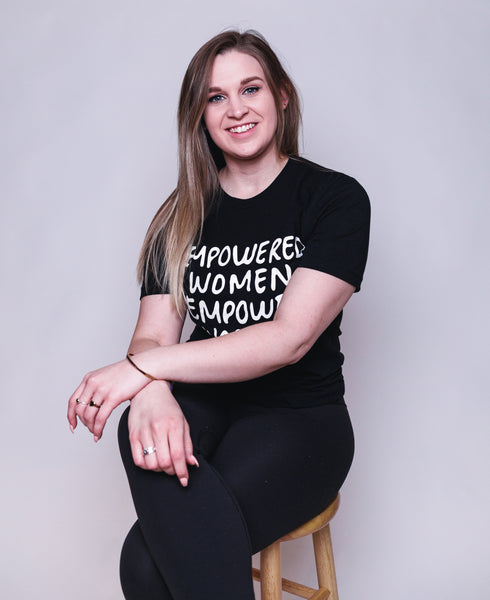 EMPOWERED WOMEN: Printed T-Shirt-3