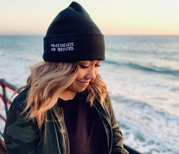 NEVERTHELESS, SHE PERSISTED - Beanie-2