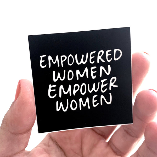 EMPOWERED WOMEN Sticker-2
