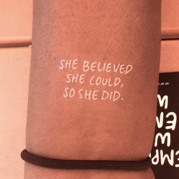 SHE BELIEVED SHE COULD, SO SHE DID.-2