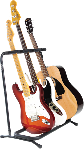 Fender 3 Guitar Folding Stand