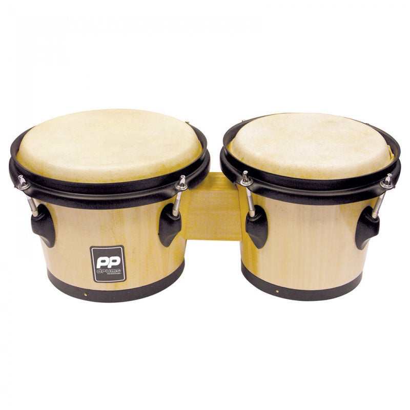 PP WORLD NATURAL WOOD BONGOS